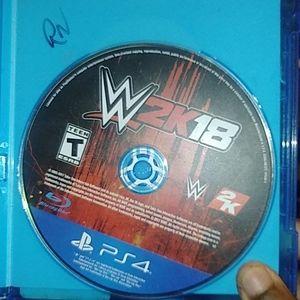 WWE 2k 18